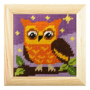 Embroidery Kit: Mini: Owl