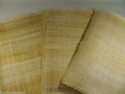 55 Blank Egyptian Papyrus Sheets for Art Projects and Schools 8x12in 20x30cm