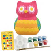 Stephen Joseph Ceramic Paint Your Own Bank-Owl