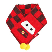 Dealzip Inc® Cute Baby Red 3D Car Shaped Winter Scarf