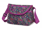 PackIt Baby Freezable Crossbody Bag for Bottles with Flap Closure, Bloom Print
