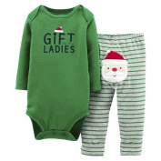 Just One You™ Carter's® Boys Two Piece Bodysuit and Pant Set New Born