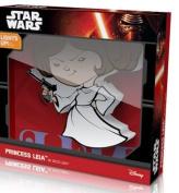 Star Wars Deco Mini 3D Cordless LED Wall Night Light Princess Leia