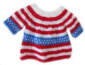 KSS Handmade US Flag Sweater Vest 2T