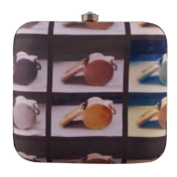 The Purple Sack Box Clutch Whistle Printed Quirky Clutches India Fashion Handbag