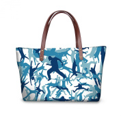 FOR U Designs Velvet Shopping Bags Casually for Lady/women/young Girl