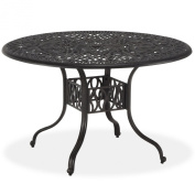 Floral Blossom Dining Table 110cm /Round
