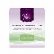 Poise Intimate Cleansing Cloth, 16 ea