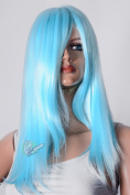 Epic Cosplay Dionysus Anime Blue Straight Cosplay Wig 60cm
