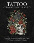 Tattoo Colouring Book for Adults