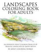 Landscapes Coloring Book for Adults