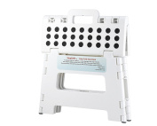 StepSafe Non Slip Folding Step Stool For Kids and Adults with Handle- 23cm in Height, Holds up to 140kg!