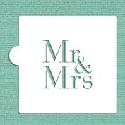 Mr & Mrs Cookie and Craft Stencil by Designer Stencils