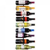 Home-X® 9 Bottle Wall Mounted Wine Rack