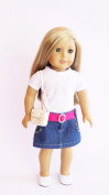 Doll Clothes - 5-Piece Casual Outfit Fits American Girl Doll, My Life Doll, Our Generation and other 46cm Dolls