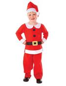 New Kids Christmas Mr Santa Suit Boys Fancy Dress Costume Festive Party Outfit