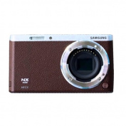 Samsung NX Mini Mirrorless Digital Camera (Brown Body Only)