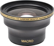 58MM & 52MM 0.30x FishEye Conversion Lens with Macro For Nikon D3100, D3200, D3300, D5000, D5100, D5200, D5300, D5500, D7000, D7100, D7200, D90, D300, D600, D610, D700, D750, D800, D810 DSLR Camera