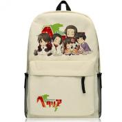 Life Star Hetalia Axis Powers Anime Cosplay Bag Backpack School Bag