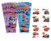 Disney Pixar Cars Themed Kids Temporary Party Favour Tattoos! Plus Bonus Cars 8ct Sticker Favours Sheets!