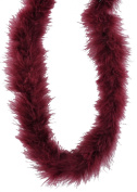 Touch of Nature 37900 Fluffy Boa, Burgundy