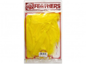 Zucker Feather Products Loose Goose Satinettes, Dyed Yellow