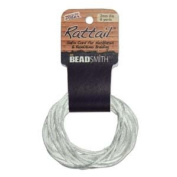 3mm Satin Rattail Braiding Cord White 6 Yards For Kumihimo and Craft 420218