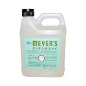 Mrs. Meyer's Liquid Hand Soap Refill, Basil, 980ml