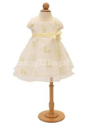 (11C6M-JF)Child Dress Form Body Form 6 month white jersey form cover,with hips,wooden base