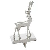 Kurt Adler Metal Deer Stocking Holder Seasonal Decor, 21cm