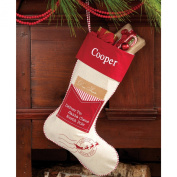 Mud Pie Stocking, Letter To Santa/Red
