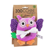 Baby Buddy Rattle - Owl/Purple