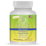Mother's Select DHA Prenatal - Prenatal DHA - 200mg, 60 Softgels, Liquid Capsules - Lemon Flavour - Provides Essential One A Day Fatty Acids for Pregnant, Breastfeeding and Lactating Mothers!