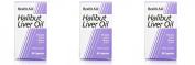 (3 PACK) - HealthAid - Halibut Liver Oil   90's   3 PACK BUNDLE