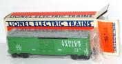 Lionel Trains 6-9473 Lehigh Valley Railroad Boxcar Green Pennsylvania 1984-85 bx