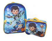 "Miles from Tomorrowland ""Pet Ostrich"" Backpack with Lunchbox - blue/multi, one size"