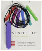 Ark Therapeutic Krypto-Bite Xxt Chewable Gem Necklace Chewelry Extra Extra Tough Lavender