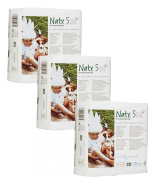 Pack Of 3 Naty Junior Nappies (Size 5) 69 Nappies