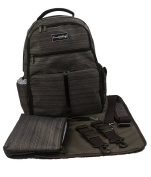 Buckingham Baby Changing Backpack Brown