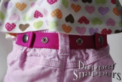 Dapper Snapper Baby & Toddler Adjustable Belt ~ Hot Pink
