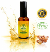 Smyrna Argan Oil ★ Premium Quality 100% Pure Moroccan Argan Oil 2fl Oz /60ml. ECO Certified Organic for Hair Treatment, Face, Skin, Nails, Dry Damaged Hair, Hair Conditioning and Styling. Controls Frizz, Adds Shine and Silkiness to Hair. Hyd ..