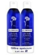 Klorane Eye Makeup Remover Lotion 2x200ml
