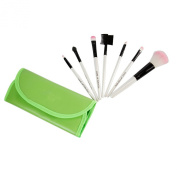 Chnli 7Pcs Professional Cosmetic Makeup Brush Set Blush Eye Shadow Lip Brushes