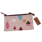 Snykk Pocket Trees Home Bird Forest Cosmetics Leisure Travel Wood School Linen Nature vegan