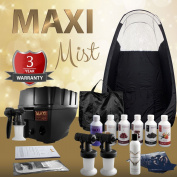 Maximist Pro TNT 'MEGA' Spray Tanning Kit + Tent, Solutions & Much More!