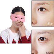 Anti Ageing Tourmaline Magnetic Eye Massager Mask Eye Mask Magnets Goggles,Suitable For Home Use Hot or Cold
