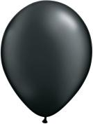 Pioneer Balloon Company 25 Count Latex Balloon, 28cm , Pearl Onyx Black