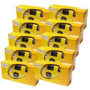 10x Edition Photo Porst Disposable Camera/Wedding Camera/Party Camera/27 Photos with Flash and Batteries)
