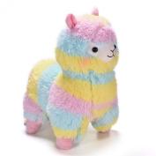 Rainbow Alpaca Plush Toy