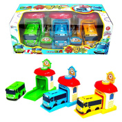Tayo the little Bus Shooting Cars Tayo Rogi Rani 3 pcs Set